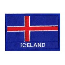 Patche drapeau Islande
