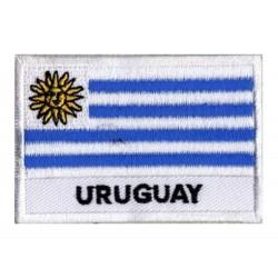 Patche drapeau Uruguay