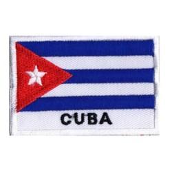 Patche drapeau Cuba