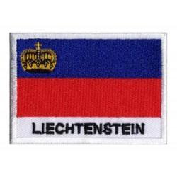 Patche drapeau Liechtenstein