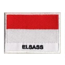 Aufnäher Patch Flagge Elsass