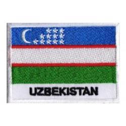 Patche drapeau Ouzbékistan