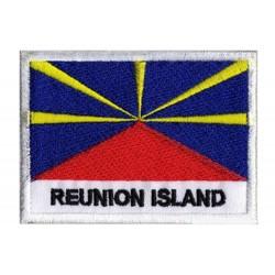 Patche drapeau Ile de la Réunion