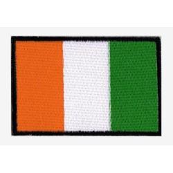 Patche drapeau Côte d'Ivoire