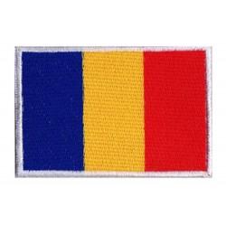 Patche drapeau Tchad