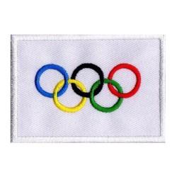 Patche drapeau Jeux Olympiques JO