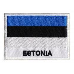 Patche drapeau Estonie