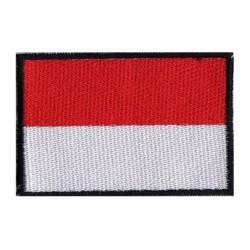 Patche drapeau Monaco