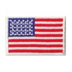 Toppa  bandiera piccolo termoadesiva USA