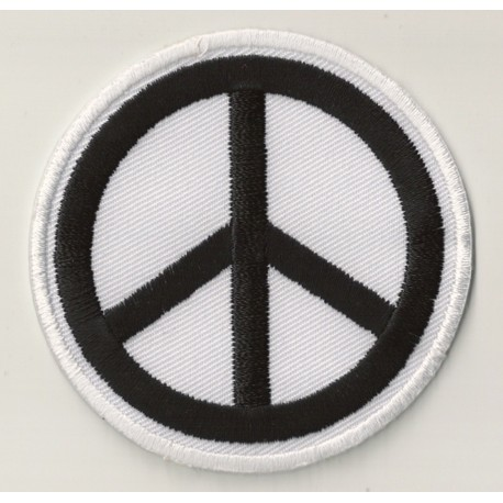Iron On Patch Peace And Love