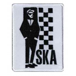 Iron-on Patch Ska Rude Boy