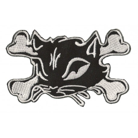 Iron-on Patch  Pirate cat