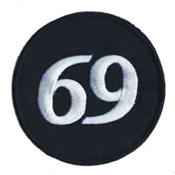 Iron-on Patch 69 sixty nine