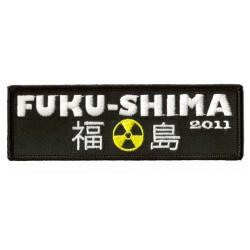 Aufnäher Patch Bügelbild Fukushima 2011