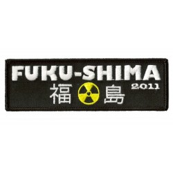 Iron-on Patch Fukushima 2011