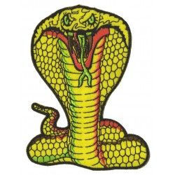 Iron-on Patch Cobra