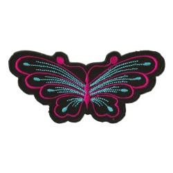 Patche écusson thermocollant papillon
