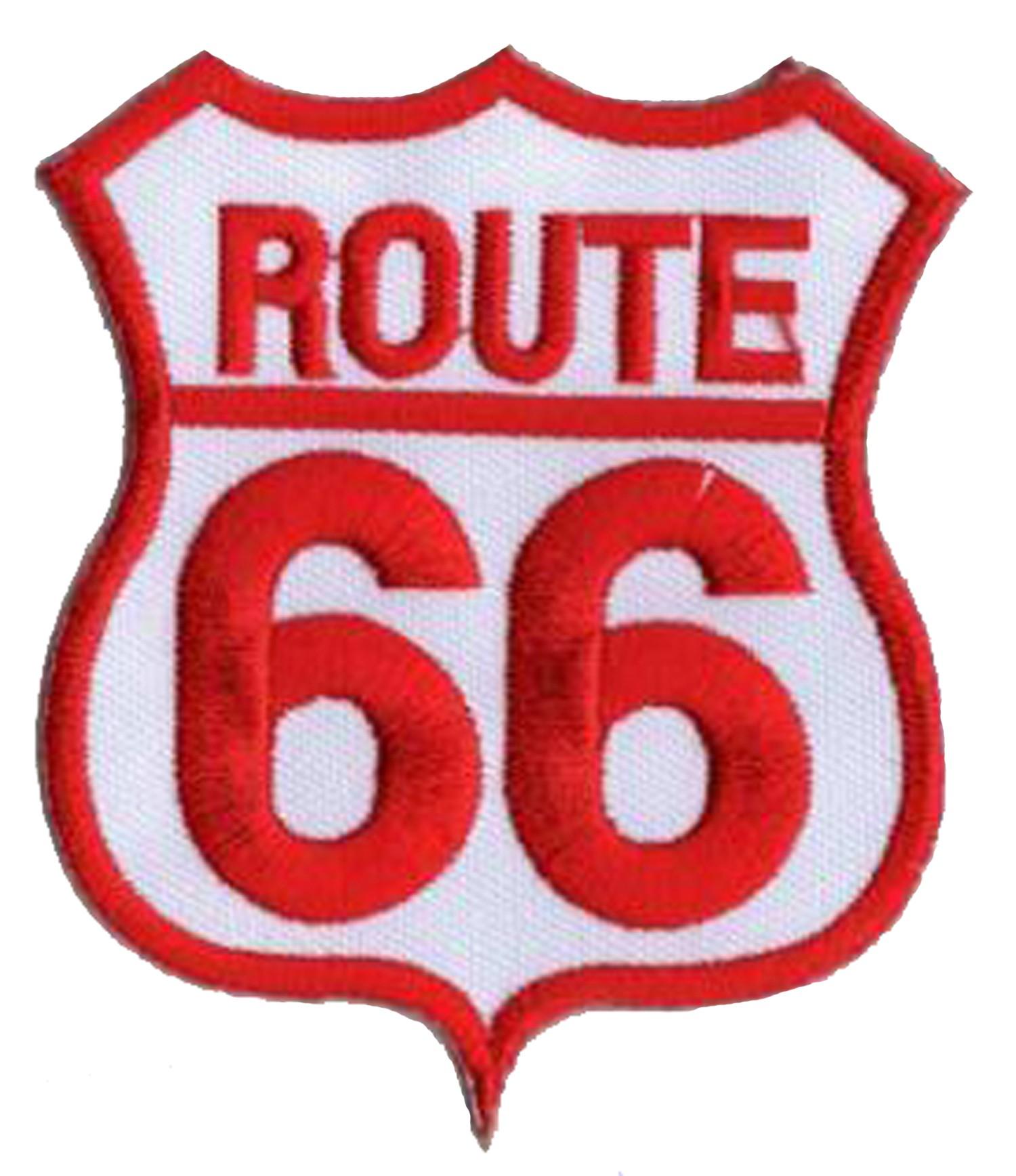 NagaPatches Patche /écusson thermocollant Route 66