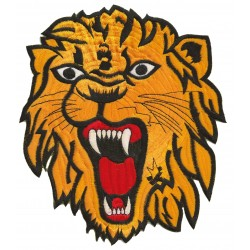 Iron-on Back Patch Lion