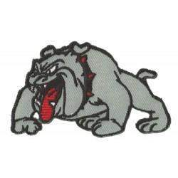 Iron-on Patch Bulldog