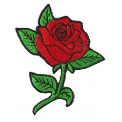 Iron-on Patch rose