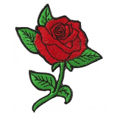 Aufnäher Patch Bügelbild Rose