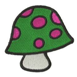 Iron-on Patch Mushroom