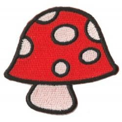 Iron-on Patch Mushrooms