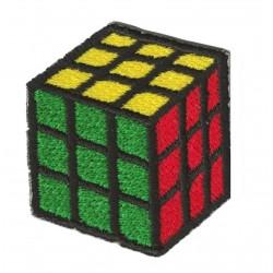 Patche écusson thermocollant Rubik's cube