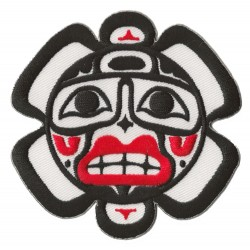 Iron-on Patch Haida Sun