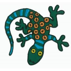 Patche écusson thermocollant Lézard Gecko