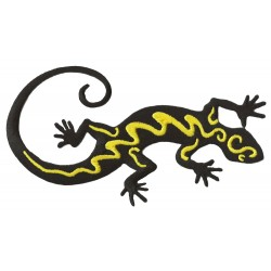 Patche écusson thermocollant Salamandre Gecko