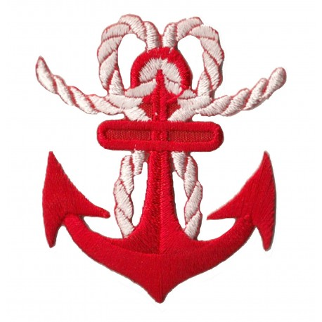 Iron-on Patch Marine anchor