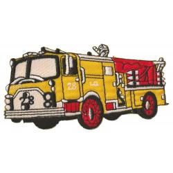 Aufnäher Patch Bügelbild Feuerwehrmann -LKW