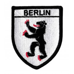 Iron-on Patch Berlin