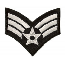 Iron-on Patch military rank