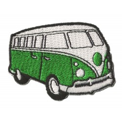 Aufnäher Patch Bügelbild Minivan VW