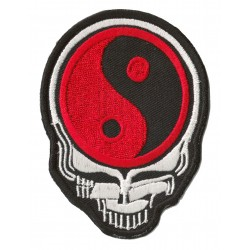 Iron-on Patch Alien Ying Yang