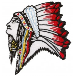 Iron-on Patch Apache Indian
