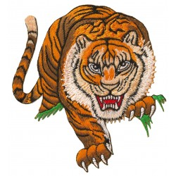 Patche écusson thermocollant Tigre