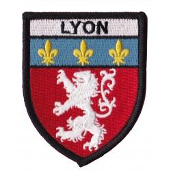 Patche écusson thermocollant Lyon Lyonnais