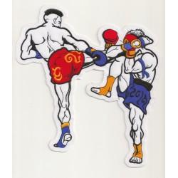Iron-on Patch Muay Thai