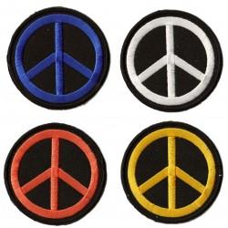 Parche termoadhesivo Peace and Love