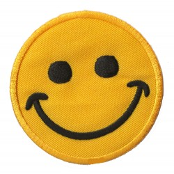 Patche écusson thermocollant Smiley