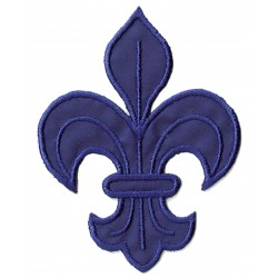 Iron-on Patch heraldic lily