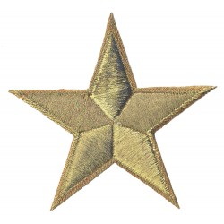 Iron-on Patch gold star