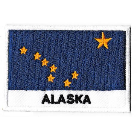 Patche drapeau Alaska