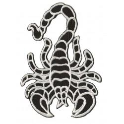 Patche écusson thermocollant Scorpion