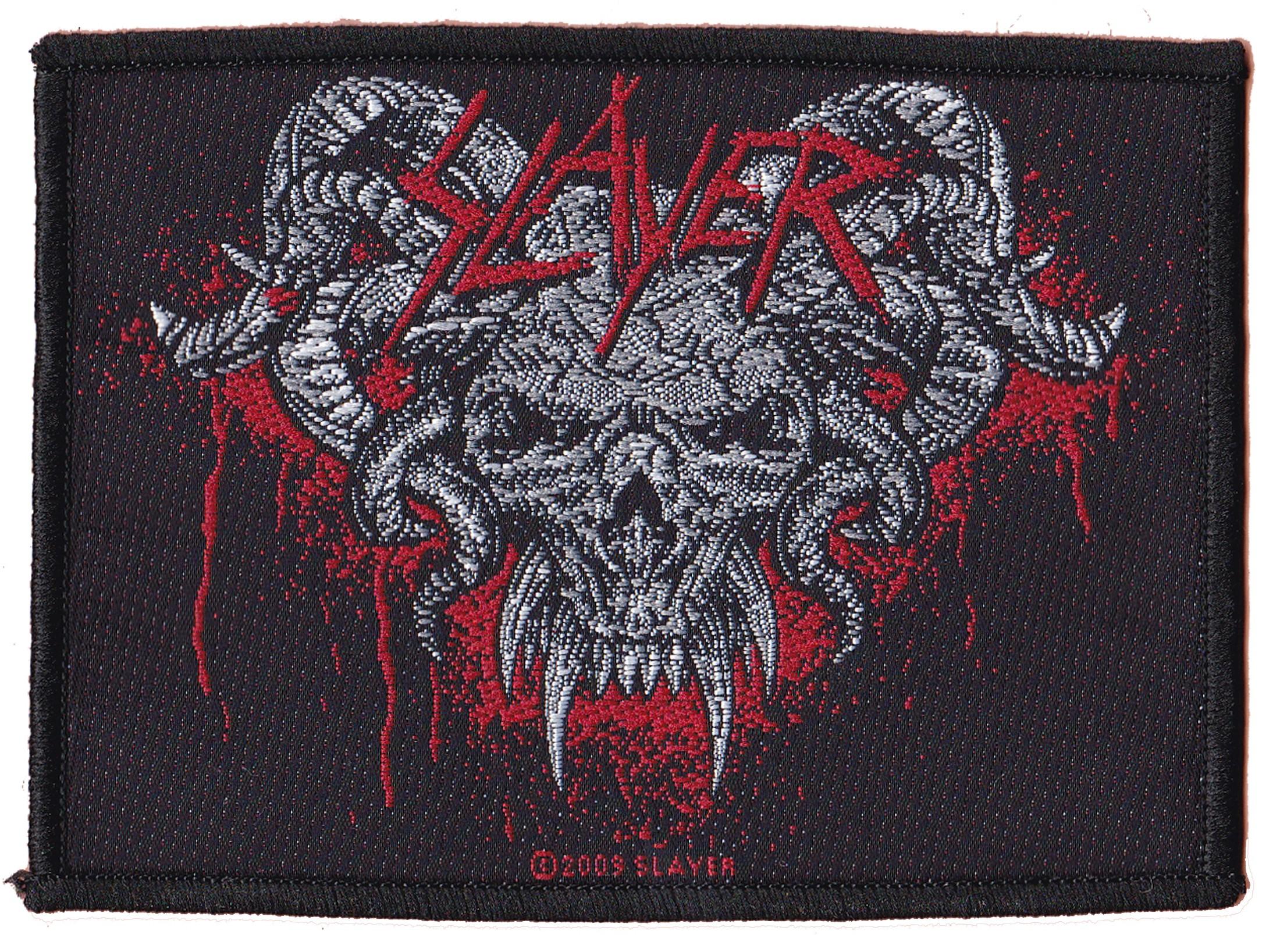 Slayer patche officiel patch /écusson sous license