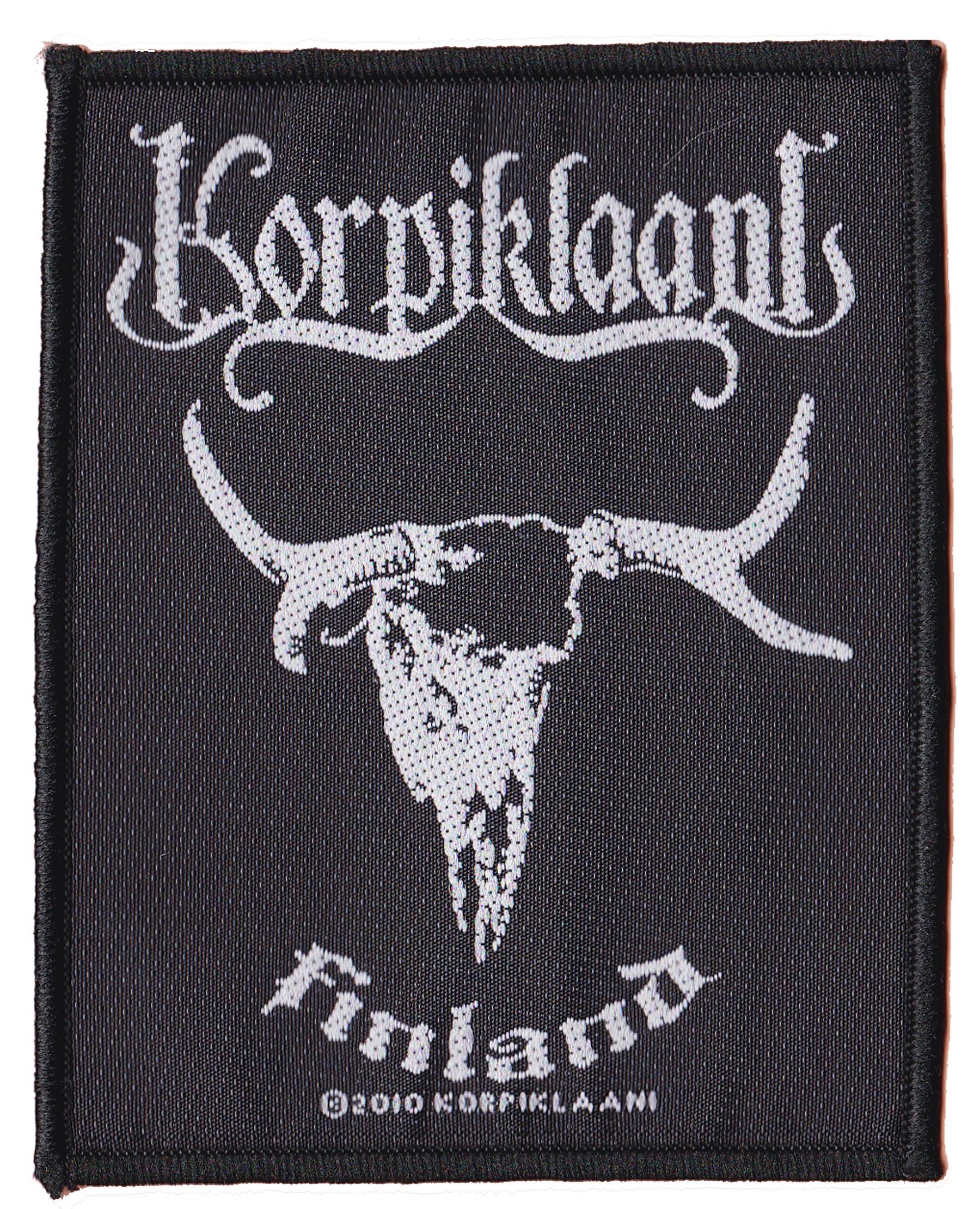 Korpiklaani Finland patche officiel patch /écusson sous license